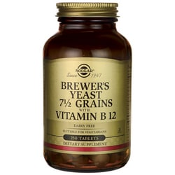 SolgarBrewer's Yeast 7 1/2 Grains with Vitamin B 12
