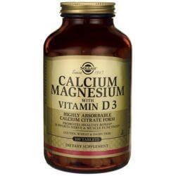SolgarCalcium Magnesium with Vitamin D3