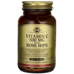 SolgarVitamin C 500 mg with Rose Hips