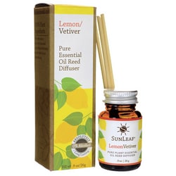 Sunleaf NaturalsPure Essential Reed Diffuser - Lemon/Vetiver