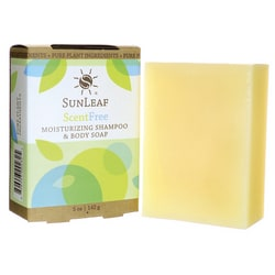Sunleaf NaturalsMoisturizing Shampoo and Body Soap - Scent Free