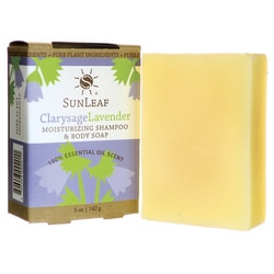 Sunleaf NaturalsMoisturizing Shampoo and Body Soap - Clarysage Lavender