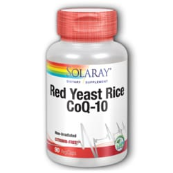 Solaray Red Yeast Rice Plus CoQ10