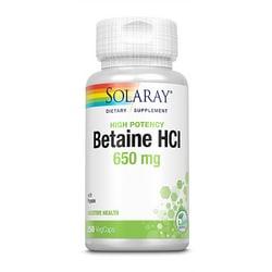 Solaray High Potency HCL with Pepsin