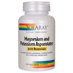 SolarayMagnesium and Potassium Asporotates