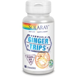 Solaray Ginger Trips Chewable