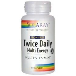 SolarayIron Free Twice Daily Multi Energy Multi-Vita-Min