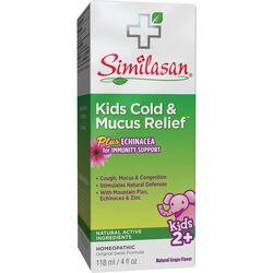 SimilasanKids Cold & Mucus Relief - Grape