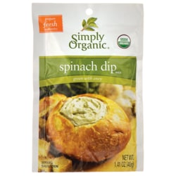 Simply OrganicSpinach Dip Mix