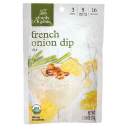 Simply Organic French Onion Dip Mix