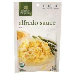 Simply OrganicAlfredo Sauce Mix