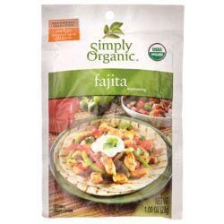 Simply OrganicFajita Seasoning