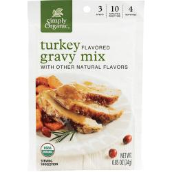 Simply OrganicRoasted Turkey Flavored Gravy Mix