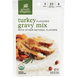 Simply Organic Roasted Turkey Gravy Mix