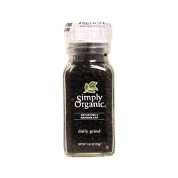 Simply OrganicDaily Grind Black Peppercorn