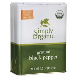 Simply OrganicGround Black Pepper