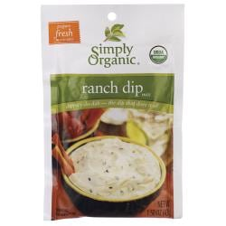 Simply OrganicRanch Dip Mix
