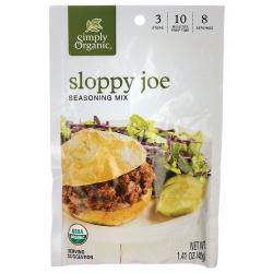 Simply OrganicSloppy Joe Seasoning Mix