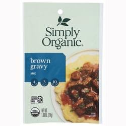 Simply OrganicBrown Gravy Mix