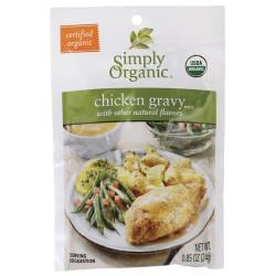 Simply OrganicChicken Gravy Mix With Other Natural Flavors