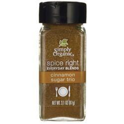 Simply OrganicSpice Right Everyday Blends Cinnamon Sugar Trio
