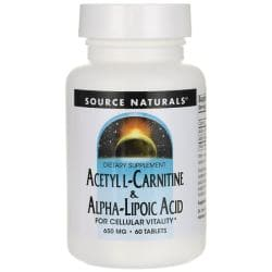 Source NaturalsAcetyl L-Carnitine & Alpha Lipoic Acid
