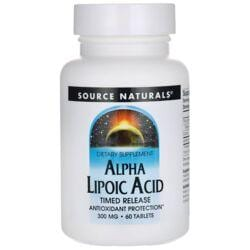 Source NaturalsAlpha Lipoic Acid Timed Release
