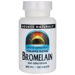 Source NaturalsBromelain 600 GDU