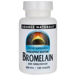 Source Naturals Bromelain 600 GDU