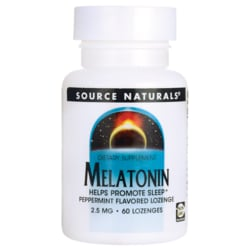 Source NaturalsMelatonin Sublingual Peppermint