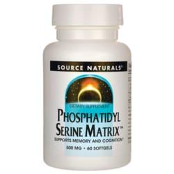 Source NaturalsPhosphatidyl Serine Matrix
