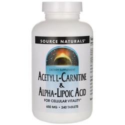Source NaturalsAcetyl L-Carnitine & Alpha-Lipoic Acid