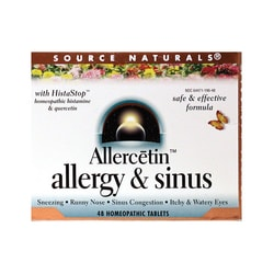 Source NaturalsAllercetin Allergy & Sinus