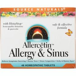 Source NaturalsAllercetin Allergy & Sinus