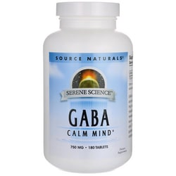 Source NaturalsSerene Science GABA