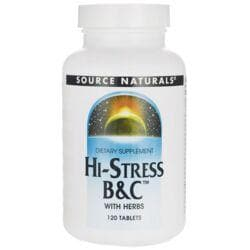 Source NaturalsHi-Stress B&C with Herbs