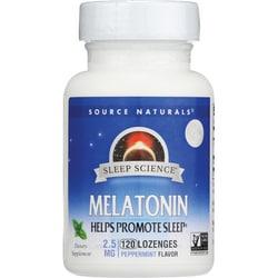 Source Naturals Melatonin Sublingual Peppermint