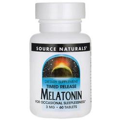 Source Naturals Timed Release Melatonin