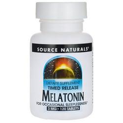 Source Naturals Melatonin Timed Release