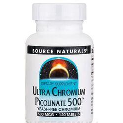 Source NaturalsUltra Chromium Picolinate 500