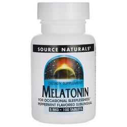 Source NaturalsMelatonin Peppermint