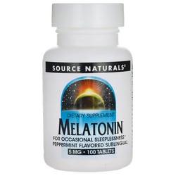 Source Naturals Melatonin Peppermint