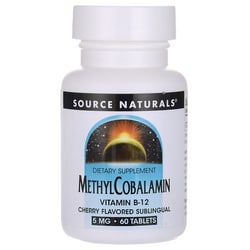 Source Naturals MethylCobalamin Cherry