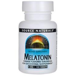 Source Naturals Melatonin Orange