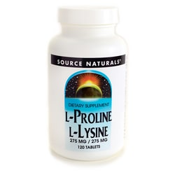Source NaturalsL-Lysine L-Proline