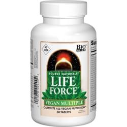 Source NaturalsLife Force Vegan Multiple No Iron