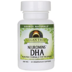Source NaturalsVegan True Neuromins DHA