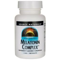 Source NaturalsMelatonin Complex - Peppermint Flavor