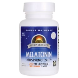 Source NaturalsMelatonin - Orange Flavored Sublingual