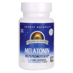 Source NaturalsMelatonin - Peppermint Flavored Sublingual